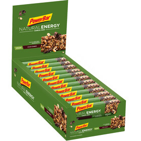 PowerBar Natural Energy Cereal Bar - Nutrition sport - Cacao-Crunch 24 x 40g